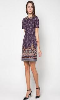 Model Baju Batik Casual Anak Perempuan