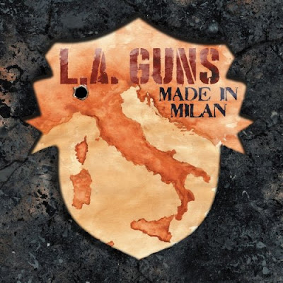 L A Guns Made In Milan 2018 DVD R1 NTSC VO