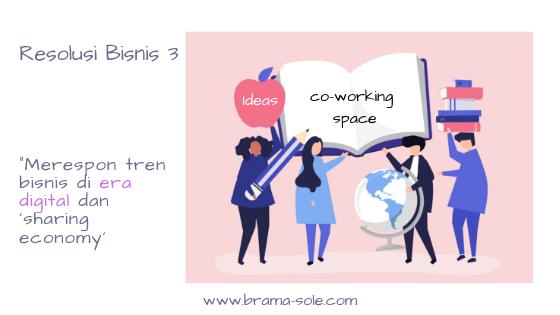 Konsep co-working di Indonesia sebenarnya sudah ada sejak tahun 2010,
