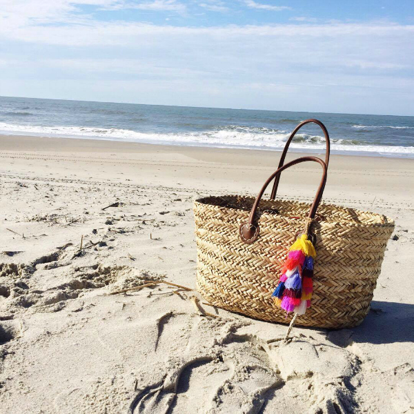 beach bag, ocean, vacation style