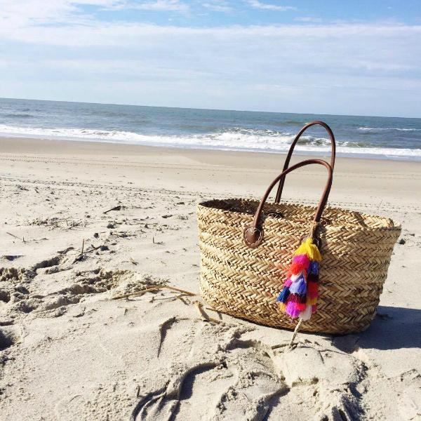 beach bag, ocean, vacation style