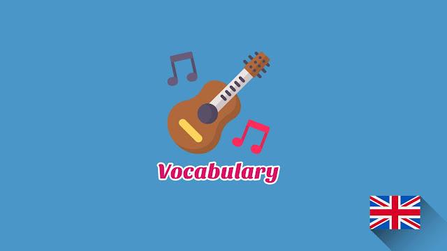 Kosakata Bahasa Inggris Alat musik Disertai Gambar Dan Pronunciation