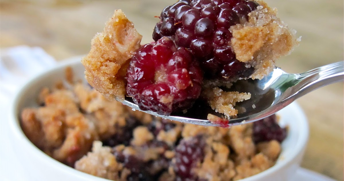 Individual Blackberry Crumble | Individual Desserts for a Party