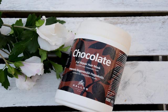 Maska do włosów Kallos Chocolate