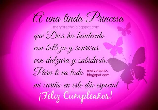 frases para mi hija princesa linda, mensaje palabras bonitas para mi hijita princesa linda con imagen por mery bracho