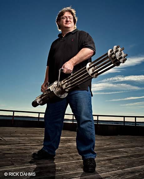 Gabe Newell - Co-fundador e diretor da Valve Corporation