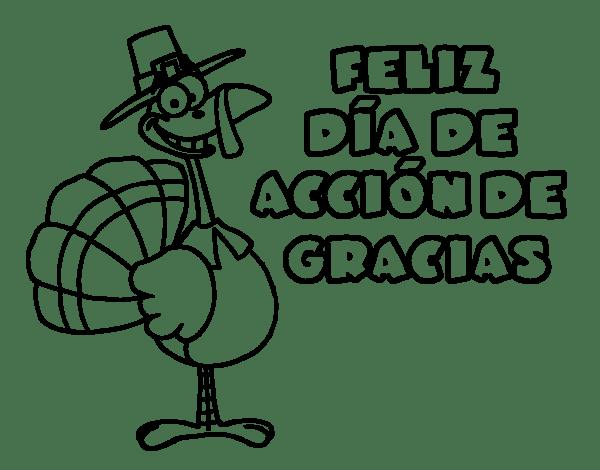 Dibujos Dia de Accion de Gracias para Colorear, parte 2 - IMÁGENES ...
