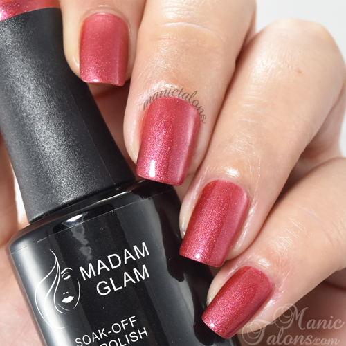 Madam Glam Gel Polish In Love With You Swatch