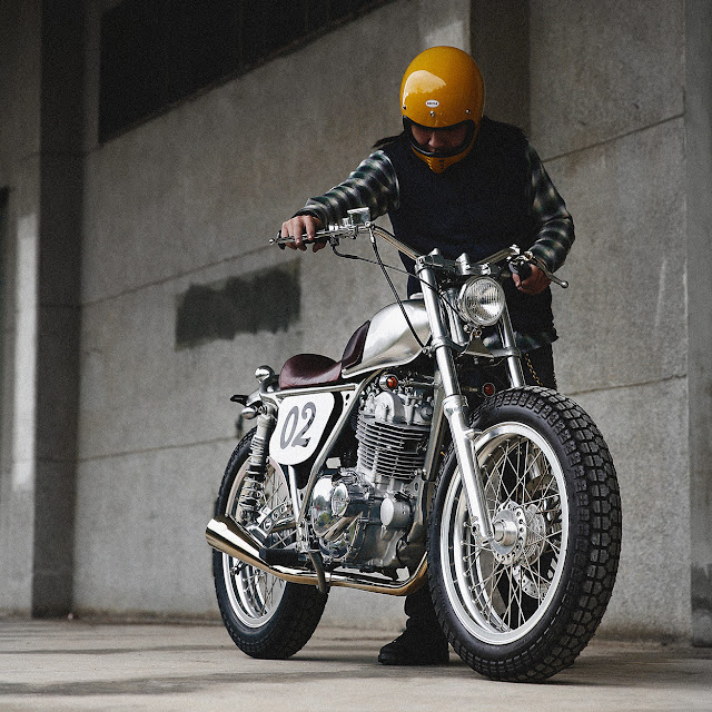 Suzuki TU250 By 2 Loud Custom Shop Hell Kustom