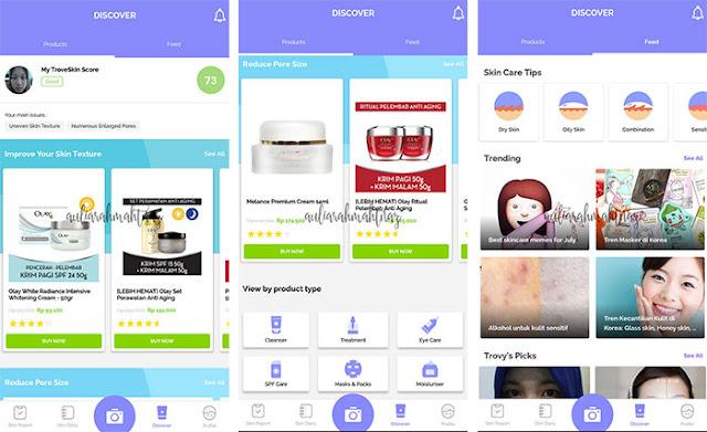 Aplikasi untuk Melihat Perkembangan pada Wajah