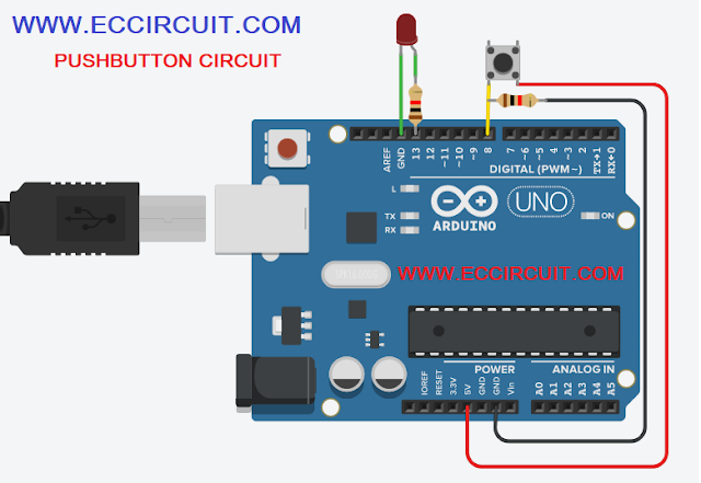 arduino push button code