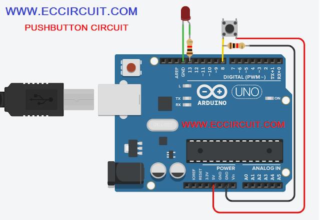 arduino push button code