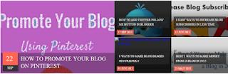 Slider Recent Posts Widget For Blogspot