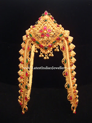Traditional Gold Arm Band
