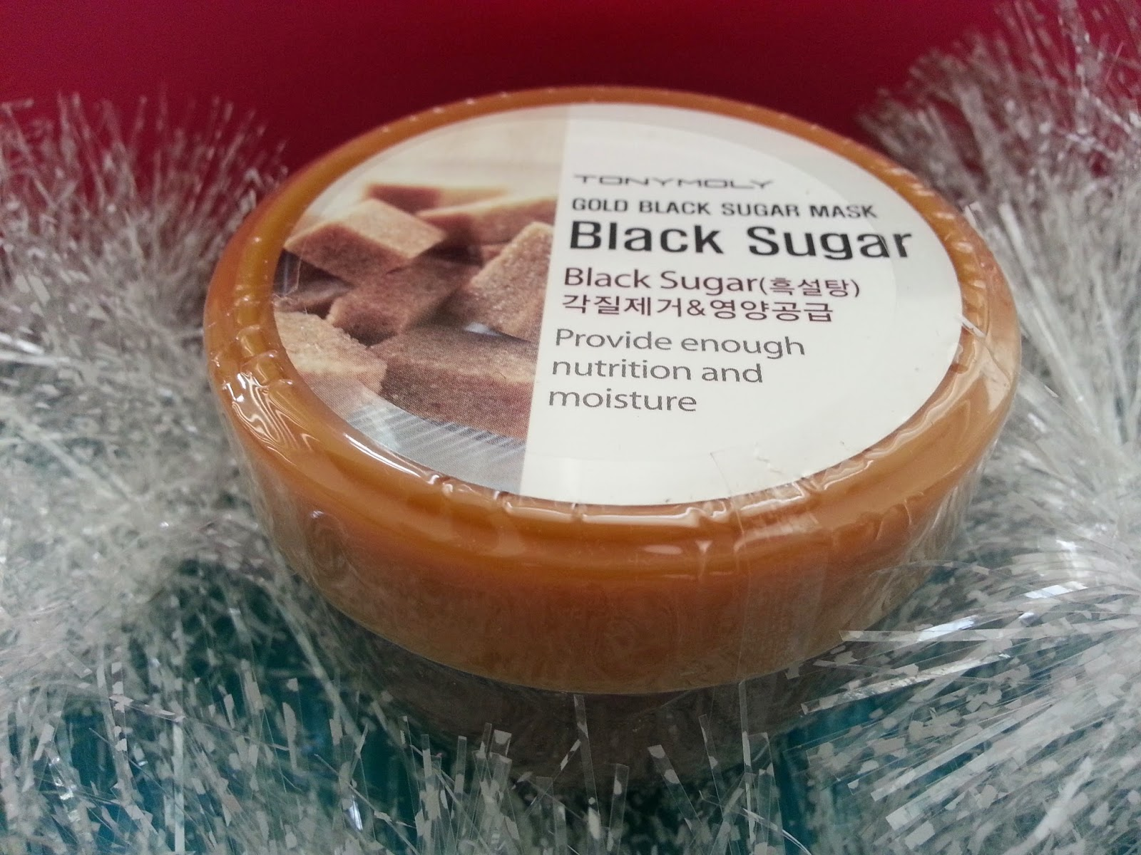 Tonymoly Gold Black Sugar Mask