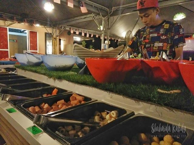 restoran umang-umang bbq & steamboat di klang