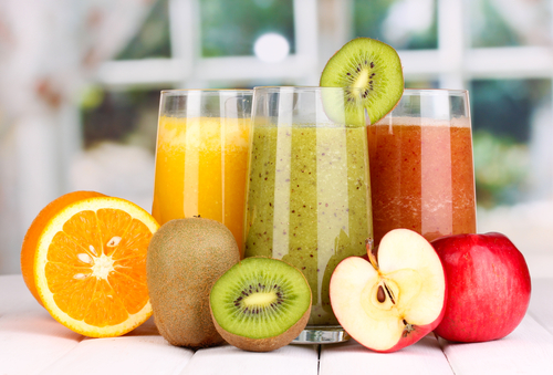 Wholesome detoxification juices