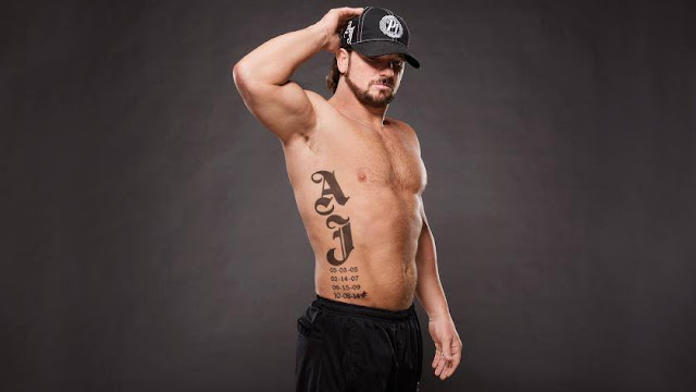 AJ Styles Tattoo Images