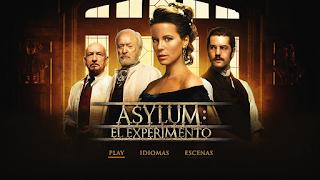 Stonehearst Asylum (2014) DVD menu