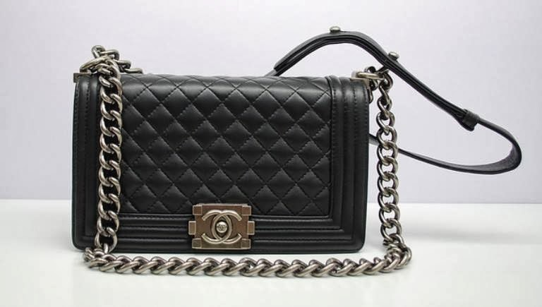 Chanel Black Boy Quilted Medium Bag Price Rm11 600