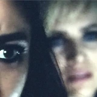 Shay Mitchell and Dre Davis (Emily and Sara) PLL 6x10 BTS