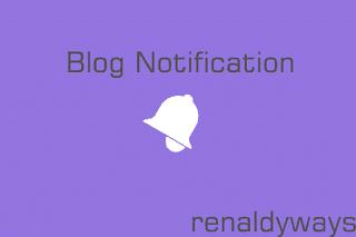 Cara Membuat Tombol Notifikasi Komentar Blog Ala Google+ Dengan Efek Slide
