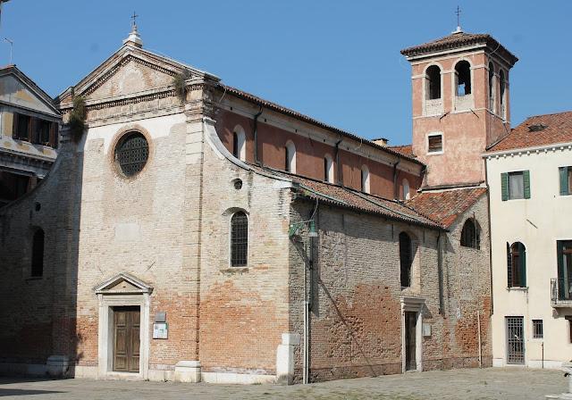 The church of San Zan Degolà, Venice