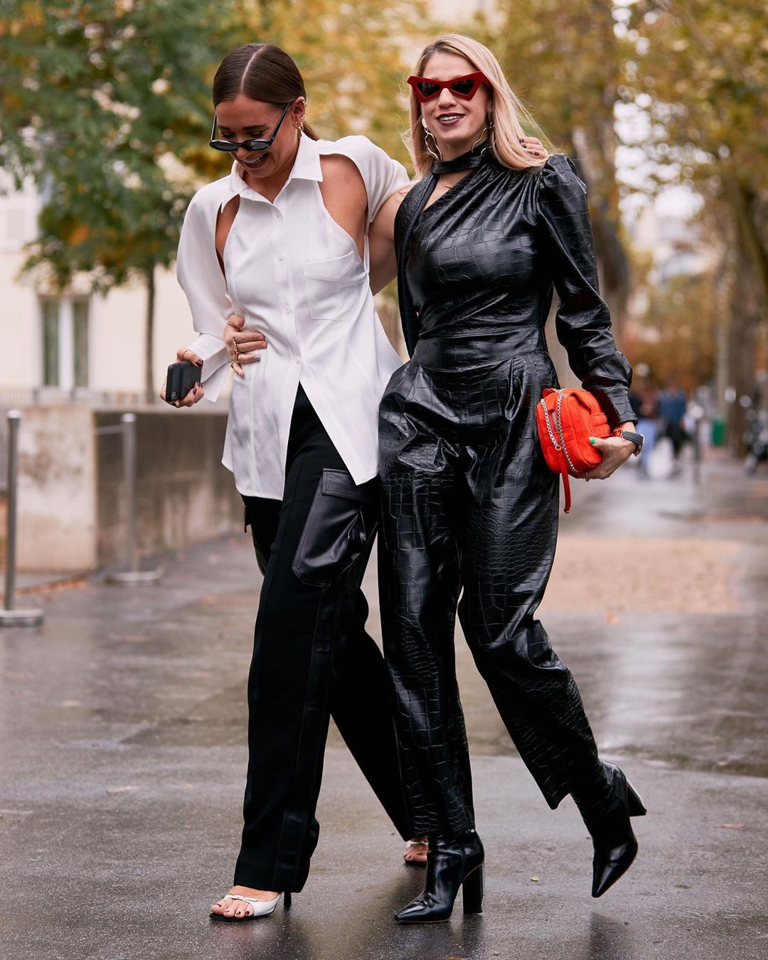 Cut-Out Tops are Fall's Answer to Sexy Street Style