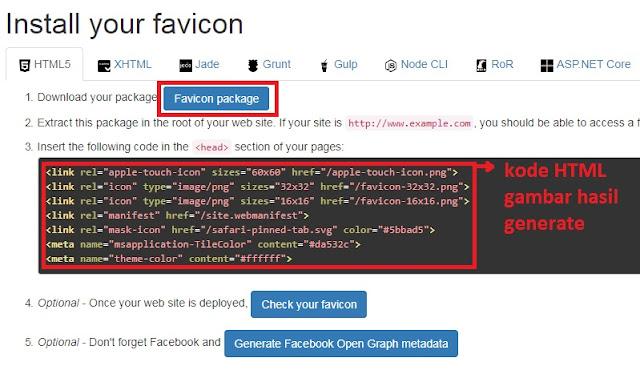 Mengganti Favicon Blog dengan Favicon Generator | KNOWPLUS +