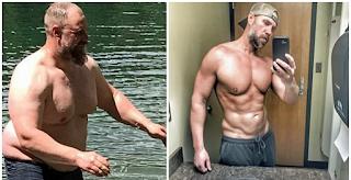 Πατέρας έχασε πολλά κιλά και απέκτησε ζηλευτό σώμα γιατί δεν μπορούσε να κάνει πράγματα με τα παιδιά του