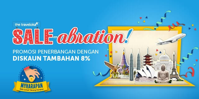 Traveloka Saleabration dan Matta Fair 2018