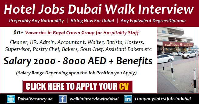 Royal Crown Cafe Dubai Careers