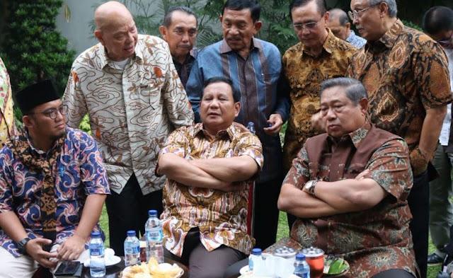 Prabowo sampai Pastikan Hubungannya dengan SBY Enggak Pecah, Apa Ada Yah?