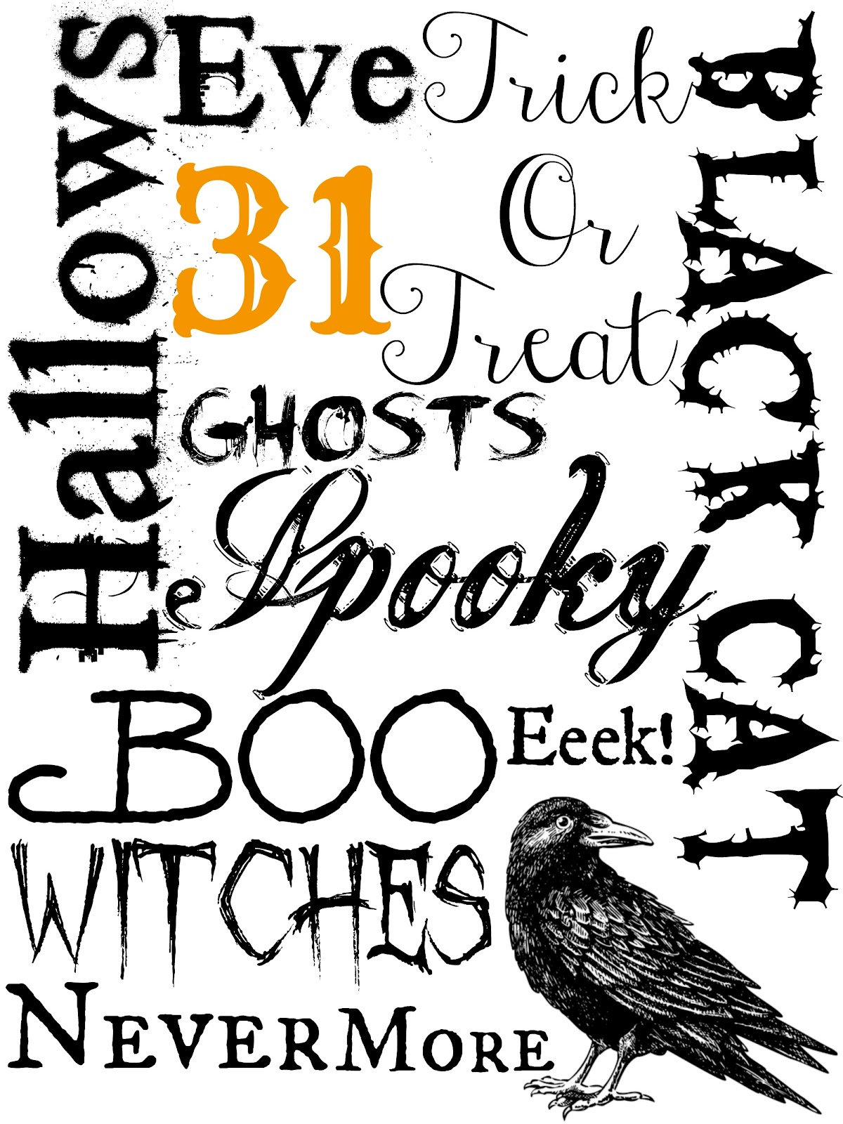 Katie Did It Free Halloween Printables