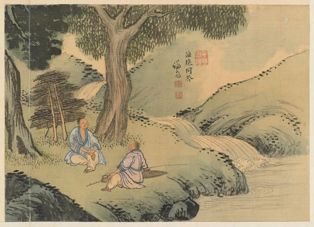 겸재(謙齋) 정선(鄭敾, 1676~1759) 경교명승첩(京郊名勝帖) 어초문답