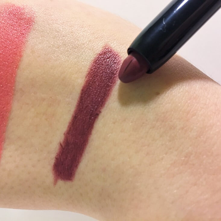 e.l.f. Matte Lip Color Scarlet Night swatch