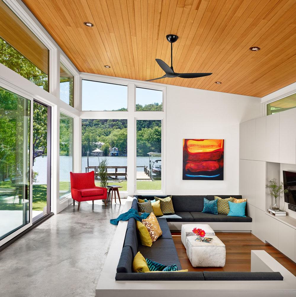 Desain Ruang Tamu Minimalis Modern Kecil Dan Elegan Masa Kini