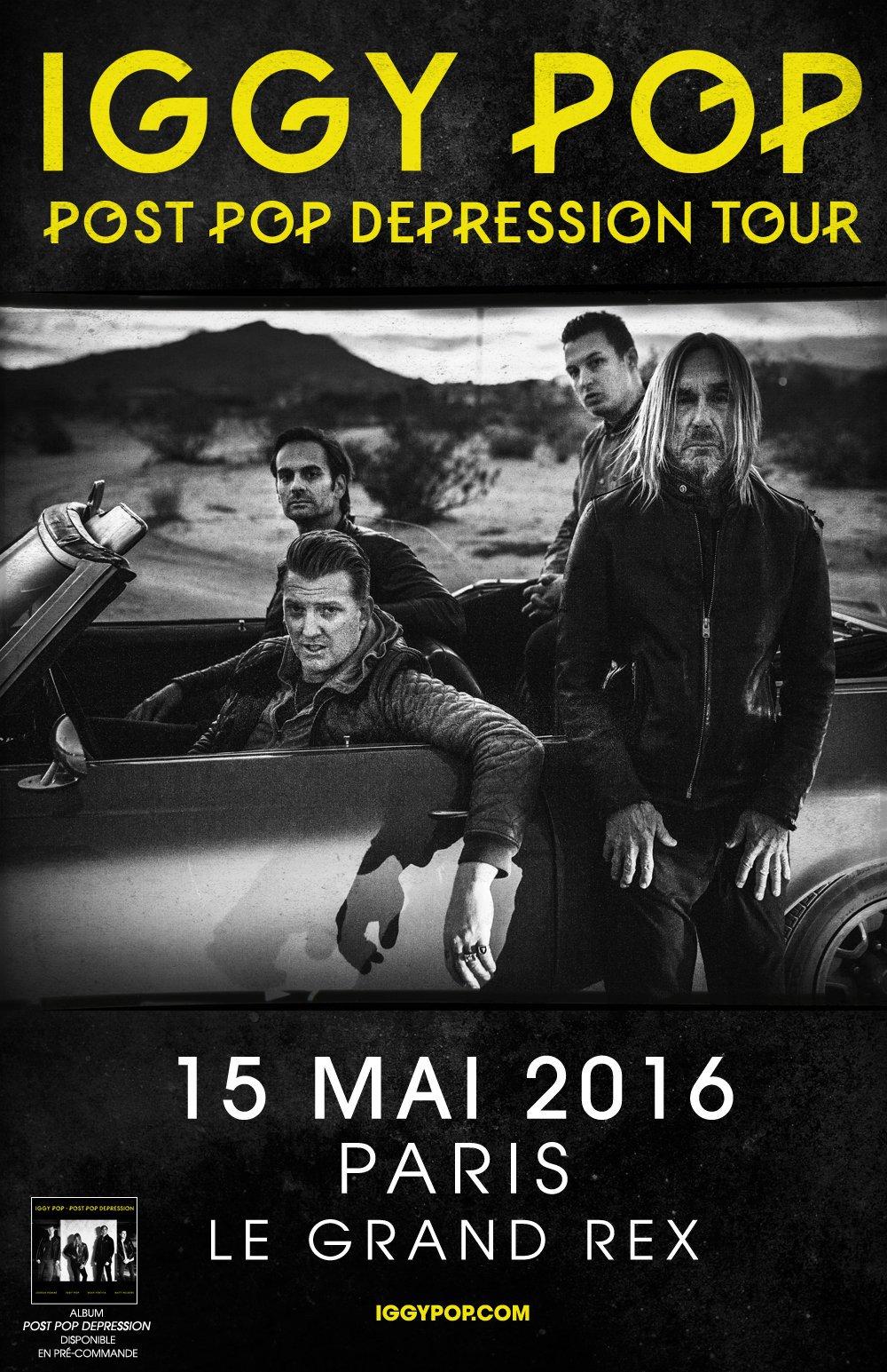 Iggy Pop Album Covers Ideal rockerparis: iggy pop @ grand rex, paris, 15 mai 2016