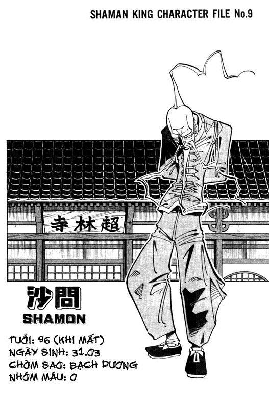 Shaman King [Vua pháp thuật] chap 17 trang 21