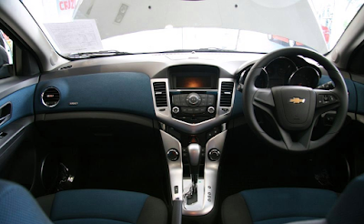 Interior Chevrolet Cruze Indonesia