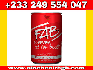 "forever FAB Active ""boost"" from forever livng products is different from other energy drinks because it gives you both immediate and long-term energy,forever active boost is a quick, refreshing way to stay energized and alert all day long and it revitalizes you so you have the endurance and concentration"