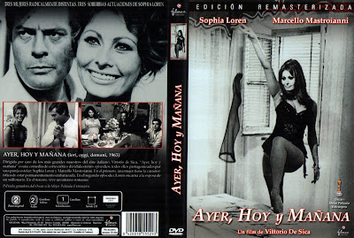 Ayer, hoy y mañana | 1964 | Ieri, oggi e domani | Cover Dvd, caratula