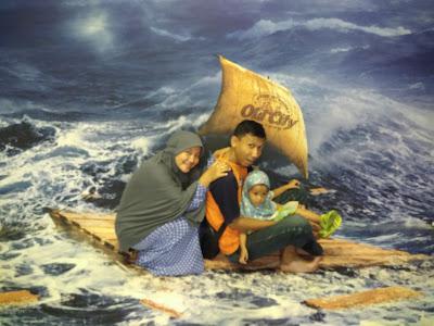 Wefie Kekinian Bareng Keluarga di Old City 3D Trick Art Museum Kota Lama Semarang