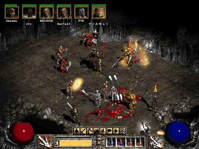 Diablo 1 and 2 PC Game Full Free Download Gameplay