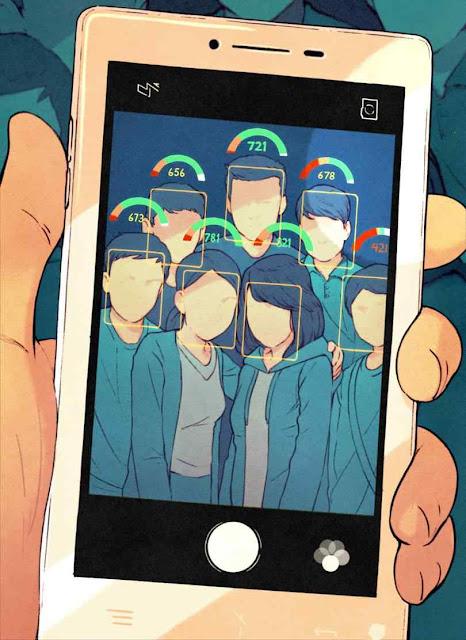 Tirou uma selfie? Um número dirá se você ou seus amigos são 'bons' ou 'ruins' para a ditadura.