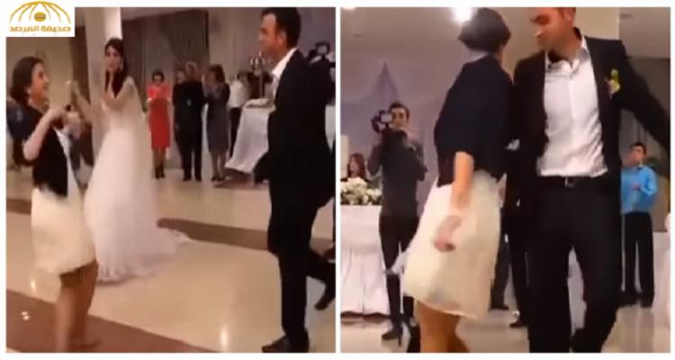 رقصت فخطفت العريس من عروسه ليلة الزفاف ( فيديو )
