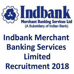 Indbank Recruitment 2017 for 39 Various Posts