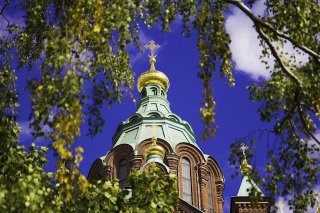 Sobór Zaśnięcia Matki Bożej; Uspenskin katedraali; helsinki; finland; finlandia;