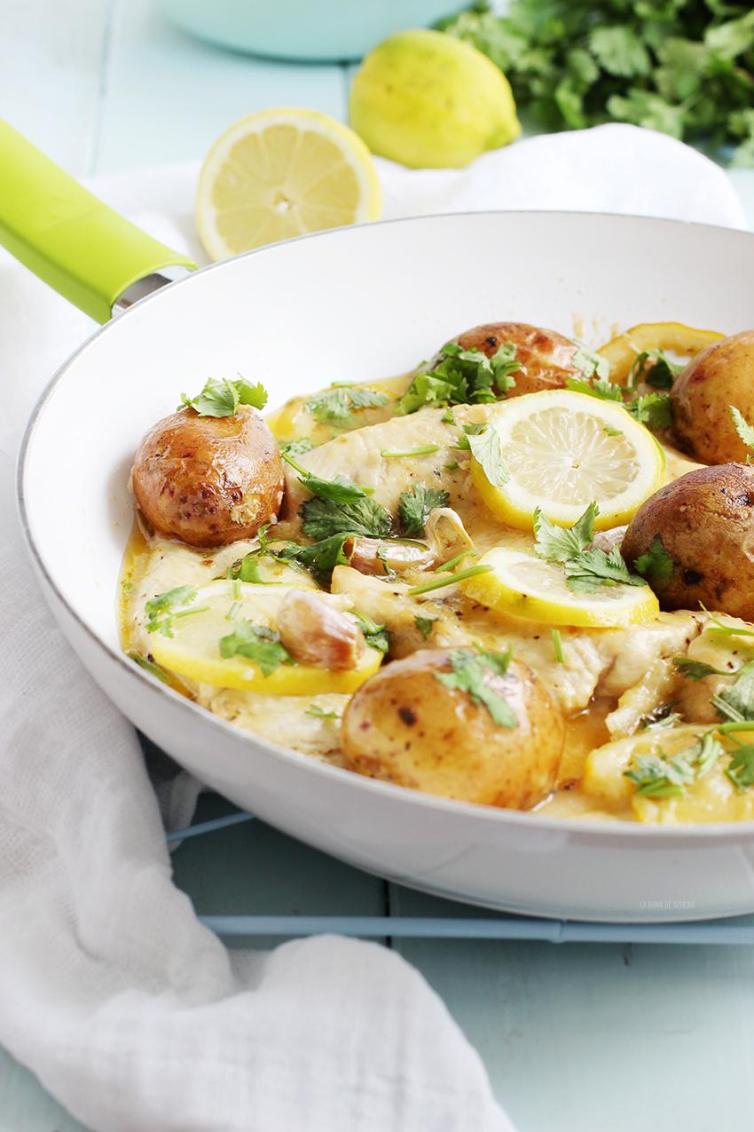 La rana de az car pechugas de pollo al lim n y mantequilla - Pechugas de pollo al limon ...