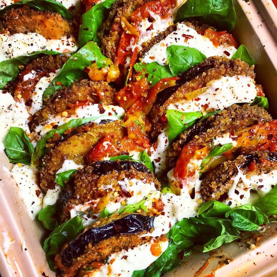Haute + Heirloom: #instagrub: Eggplant Parmesan With